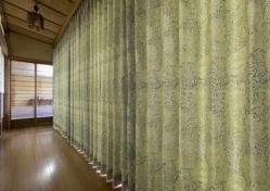 カーテン施工例3|日本家屋の廊下|みよし市にある【ふとんの青木】東郷町・日進市 ・豊田市からも