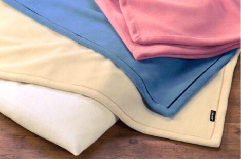驚くほど軽くてあたたかい毛布